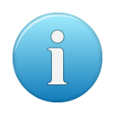 blue, info icon