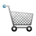 shopping, trolley, ware icon