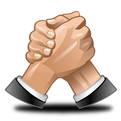 competitors, deal, hand, hands, wrestle icon