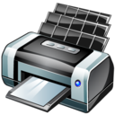 bubble, jet, printer icon