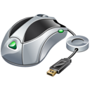hardware, mouse, usb icon