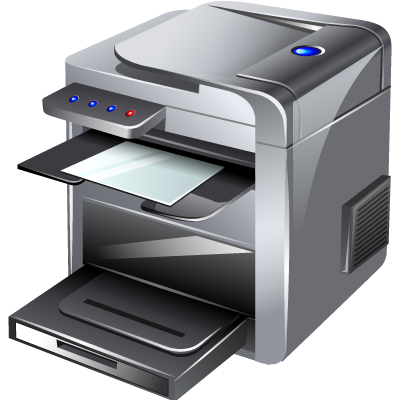multifunction, printer icon
