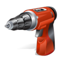 hand driller, tool icon