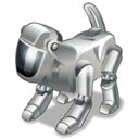 dog, pet, robot, technology icon