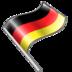 flag, german icon