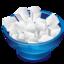 cubes, sugar icon