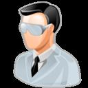 man, test, tester, user icon