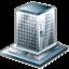 agency, building, bureau, business, company icon