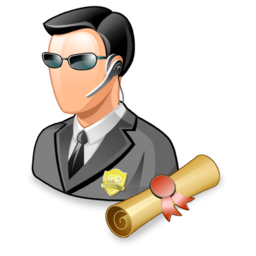 agent, bodyguard, policies, security, spy, user icon
