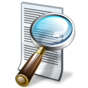 document, file, find, search, text icon
