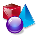 3d, max, shapes icon