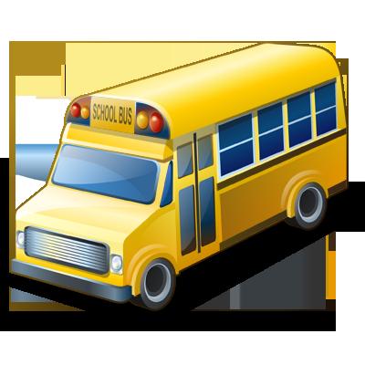 bus, school icon