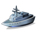 destroyer, warship icon
