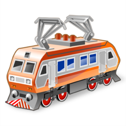train, trains icon