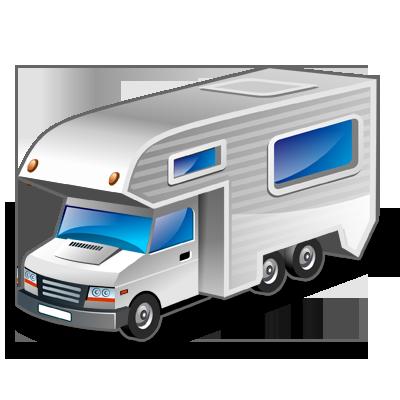 car, motorhome, vehicle icon