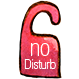 do not disturb, privacy icon