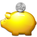 money, moneybox, piggy bank, saving, savings icon