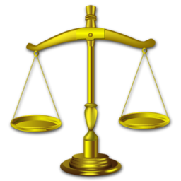 balance, gavel, justice, law, lawyer icon