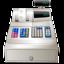 cashbox, register icon