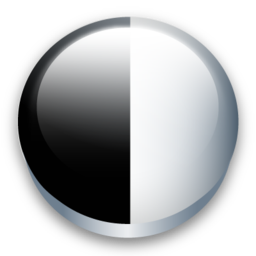contrast, gama icon