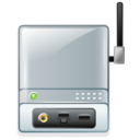 print, server, wireless icon