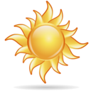 bright, sun, weather icon