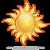 bright, sun, weather icon