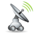 gps, net, radar, signal icon