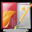 brochure, download icon