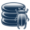 bug, database, debug, definitions, virus icon