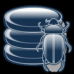 bug, database, debug, definitions, virus icon