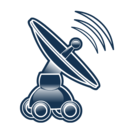 antenna, net icon