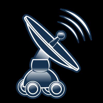 antenna, net icon