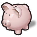 bank, money, oink, piggy, savings icon