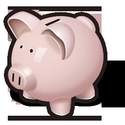 bank, money, oink, piggy, savings icon