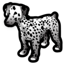 animal, dalmatian, dog icon