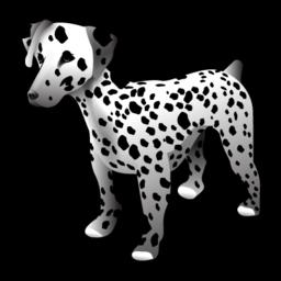 animal, dalmatian, dog icon