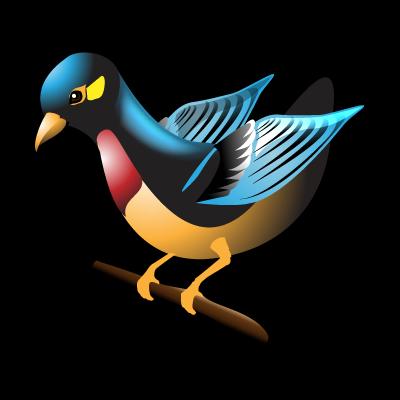 bird, flowerpecker icon