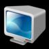 crt, monitor icon