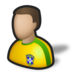 brazil, football, people, player, soccer, sport icon
