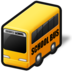 school bus, service, transportation, vehicle icon