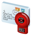 alert, virus icon