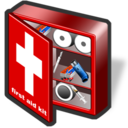 first, aid, kit icon