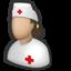 enfermera, enfermeria, hospital, medical, nurse, nursery icon