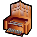 organ, pipe icon