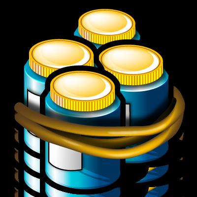 groups, jars icon