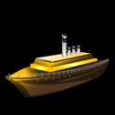 steamer, boat, ship, transportation