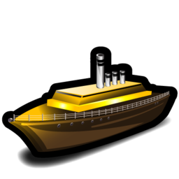 boat, ship, steamer, transportation icon
