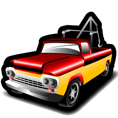 tow, truck icon