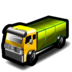 lorry, taxi icon